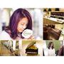 【美髮】Moon Hair Studio月穆髮型藝術東區染髮.我的高彩度紫紅春夏新髮色