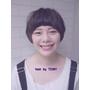 台北市髮型設計師推薦 燙髮 染髮 剪髮     俏麗短髮+短劉海~很好看!!  髮型設計TONY老師