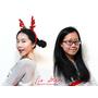 """(妝容)紅色系,聖誕節妝容!眉毛+修容 教學,彩妝品使用心得,""""超實用必看""""!"""