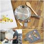 [Shop2U]專業廚師做菜好幫手 G.R.Y.M 銅鍋系列 平底煎鍋 (24X5cm)