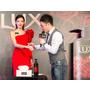LUX全球首款含香氛凝珠的沐浴乳,女神蔡詩芸性感登場施展愛情虐心肌密