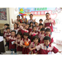 4月2日高雄7-11明榮門市辦氣球表演+杯子蛋糕+小小店長體驗活動