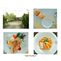 【高雄旗山∣美食】La Salsa香草花園,望著綠油油的稻田吃著有機米,渡過我與大自然的午餐約會!!!