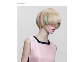 HAPPYHAIR 迷幻色彩漫遊時尚領域 復古BOB髮型強映炫光色彩