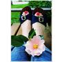 [鞋]走過傳統 時尚新風貌 會呼吸的木屐 巧匠木屐 時尚牛仔中跟木屐