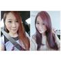 【流行】冷色系紫紅也能戰勝婚紗拍攝 * 台中染髮 西屯  VS Hair
