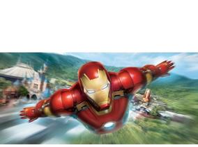 Hong Kong Disney 香港迪士尼 全新鋼鐵人主題遊樂設施「鐵甲奇俠飛行之旅」將於2016年底開幕