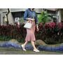【Outfit】讓雙腿休放個假❤平底鞋也能穿出好比例身材