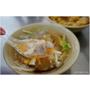 『台中。神岡區』市場旁的銅板美食,橫跨早午餐,在地米糕/肉羹湯!千萬別錯過豬腳