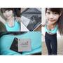 [穿搭]Mollifix瑪莉菲絲 MOVE FREE 掰掰馬鞍動塑褲+高調A++動塑升級撞色運動Bra 運動也可以時尚有型!