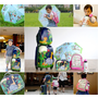Bobble art~來自澳洲的硬殼行李箱組好吸睛,還有兒童不銹鋼水壺/超透氣減壓後背包/兒童安全雨傘/隔熱午餐袋超實用