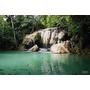 泰國.北碧府▋愛侶灣國家公園瀑布ERAWAN NATIONAL PARK~天然石灰岩形成七層如夢似幻的瀑布,有輕鬆健行的樂趣也有登山越野的快感