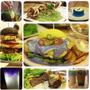 【台中】雙魚2次方.新推出藍趴派對餐,還有比手機高的硬來漢堡(三訪+影片)