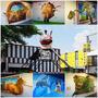 『彰化。員林』B12文創特區║員林新景點,以貨櫃屋概念融和3D立體藝術圖畫,拍照好去處!!