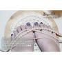 [美甲]夏天來了~腳指甲也要美美的♡♡♡//N.P.S Nail 光療凝膠概念美甲//露出腳兒-和風日式花兒彩繪✿✿--雙連站
