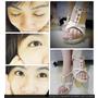 【美睫美甲】♥♥妝點美麗的睫毛和足部光療指甲♥♥,就是要漂亮一夏。(台北古亭)