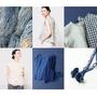 45R 2016夏季系列 千年和紙織揉入衫 藍染紙紗勾勒脫俗美學
