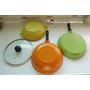 《鍋具》【CUOCO】韓國原裝時尚鈦石不沾鍋具組(28cm 3鍋1蓋四件組-炒鍋。牛排鍋。湯鍋)︳無法抵擋的輕量馬卡龍色(影片)