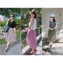 [OUTFIT]找到命定紗裙。3色半身紗裙X6種Look