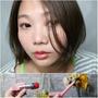 「Makeup」零技巧打造無辜雙眼豐唇妝,Miss Hana 花娜小姐 #明眸亮彩臥蠶眼影筆 #Bonjour繃啾豐唇蜜