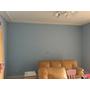 想了好幾年,真的刷出家裡想要的牆壁顏色 ~