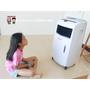 《開箱心得》Honeywell 節能環保移動式冷卻器(空氣水冷器 )︱如何使用?? 夏日降溫方法分享(附影片)