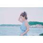 [ 一日私服 ] 夏天的舒服淺藍套裝