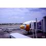泰國曼谷~廉航酷鳥航空到曼谷,777廣體客機,經濟艙和一般飛機一樣有舒適的座椅