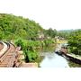 泰國北碧府▋~體驗泰緬鐵道火車之旅,桂河大橋、死亡鐵道,緬懷當年盟軍戰俘辛酸血淚史