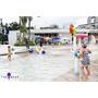 暑假就是要玩水。南投「DeJiJi 親水童年」-水上樂園+親子餐廳