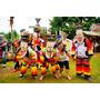 【泰國,東北雷府】泰國雷府鬼臉節(Phi Ta Khon Festival)東北一年一度的遊行嘉年華;猛鬼出閘好繽紛,好熱情呀!