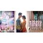 古式婚紗、水晶會場、高顏值伴娘郎「雙陳」婚禮重點看頭