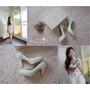 ▌囍 ▌EPRIS艾佩絲婚鞋 我的夢幻婚鞋 小洋裝穿搭示範