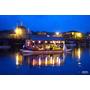 日本九州大分縣▋ 小京都之湯三隈飯店 Mikuma Hotel ~屋形船上享用浪漫晚餐,看古老的鸕鷀補魚,頂樓泡露天湯泉好愜意