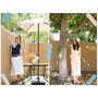 2種舒適的夏日穿搭 ✩ 韓國K.W.寬褲套裝 + 達芙妮涼鞋