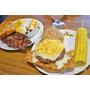 the Chips美式餐廳海陸派對堡嫩肩小排早午餐/內湖店/內湖美食