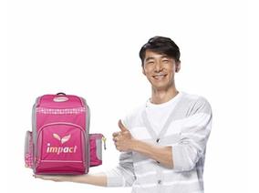 好爸爸李李仁堅持給孩子最好的 《impact怡寶》旗艦款反重力書包 新上市