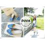 ▌美鞋◆夏日穿搭系,點亮修長的雙腿!SLIPA平價女鞋<DOOK夏日丹寧麻料楔型鞋>