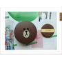【美妝+】韓國 MISSHA╳LINE FRIENDS 氣墊腮紅,熊大超可愛的啦!保濕、潤澤粉嫩上色