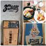 {{食記}} 新北。中和 捷運景安站旁的文青塗鴉咖啡館-三隻貓頭鷹3OWLS C@FE 景安店