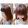 美髮│布丁頭掰掰 來FIN Hair Salon補染頭髮變回亮麗女孩。中山站髮廊推薦。Andy老師