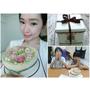 《美食》Vanessa's Bakery凡內莎烘焙工作室 天香台閣★栗子桂花慕斯香草蛋糕♥最適合送女孩的生日蛋糕