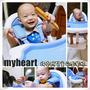 ◊ 養成寶貝用餐的好習慣  myheart 折疊式兒童安全餐椅 ➩ 台灣製造 好拆 好洗 好收納