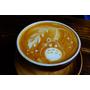 【台灣,桃園,中壢區】舊家樓下的咖啡館,雷爾森咖啡;自家烘培咖啡跟手工自製甜點都好棒,還有超療癒的龍貓拿鐵。