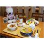 『台中。龍井區』豆子洋食商行║日本洋食新發現!隱藏東海商圈小巷內,充滿童趣用餐氣氛,平價又美味,滿足每種客群味蕾~(免費WiFi/插頭/不收服務費/平日不限時)
