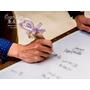 ♡Wedding♡ 浪漫愛心簽名筆❤超簡易DIY手作