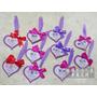 ♡Wedding♡ 婚禮超搶眼工作人員名牌❤DIY紫色愛心羽毛名牌