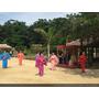 【沖繩遊記】體驗道地傳統文化「色彩鮮豔的琉球村」