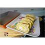 《日式玉子燒食譜》新手也不失敗的日式玉子燒x【韓國Kitchen Art】亮麗橘鈦晶石雙鍋組(32cm炒鍋+玉子燒鍋)開箱|附影片