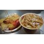 ♥板橋新埔美食♥黃石市場內料多實在~生炒魷魚&蘿蔔糕
